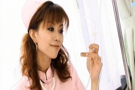 Akane Hotaru Hot Asian nurse is sexy
