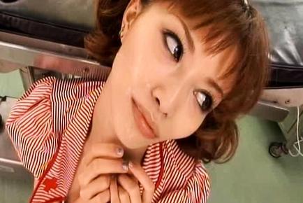 Akane Hotaru Lovely Sweet Asian nurse