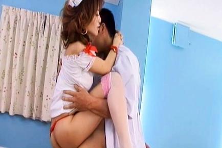 Akane Hotaru Japanese nurse is hot for a fucking