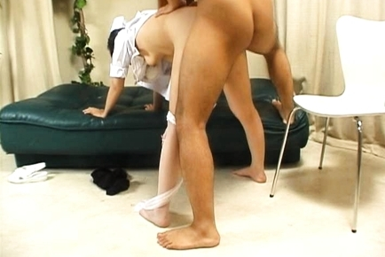 Ryo Hazuki Naughty Asian nurse gives a hot blowjob