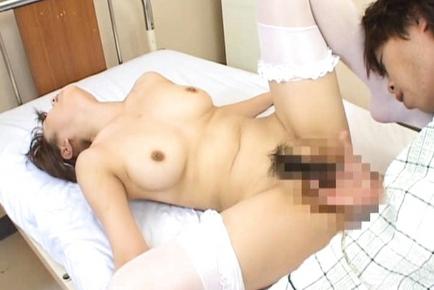 Mami Yasuhara Lovely Asian nurse enjoys lots of sex