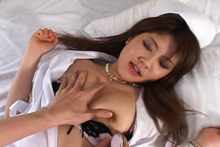 Ai Niimura Sexy Asian nurse enjoys her job