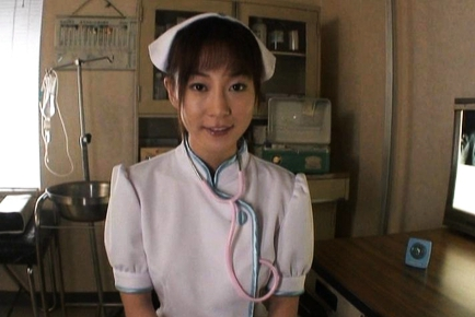 Mako Katase Horny Asian nurse