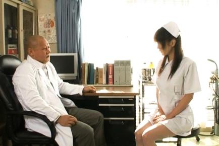 Mako Katase is a cute Japanese nurse