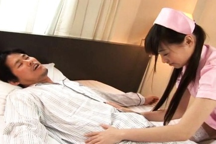 Riku Shiina Amazing Asian nurse enjoys lots of fucking