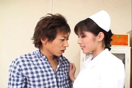 Riko Tachibana this asian doll is a kinky Japanese nurse