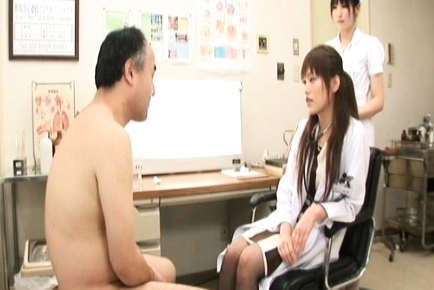 Rika Nagasawa Cut Asian nurse is up for some sex