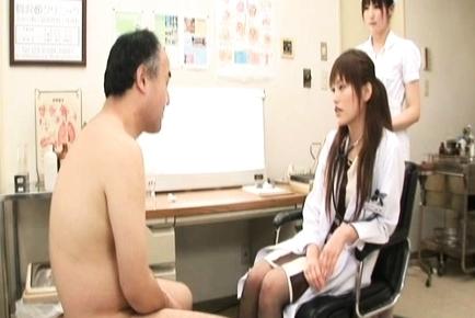 Rika Nagasawa Cut Asian nurse is up for some sex