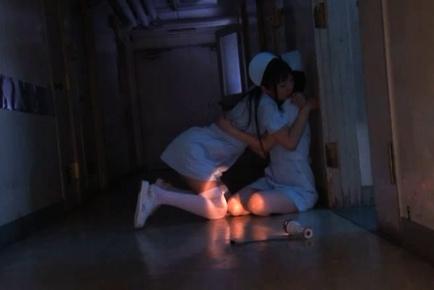 Maki Houjo, Kokomi Naruse,Rui Santome,and Erii Akira Hot nurse sex
