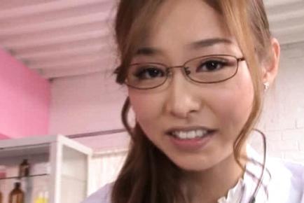 Sarasa Hara Hot Japanese nurse loves fucking