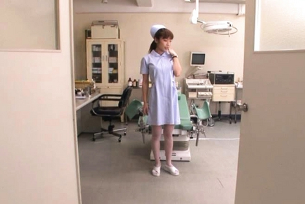 Mika Kayama Obscene Asian nurse is horny Asian chick