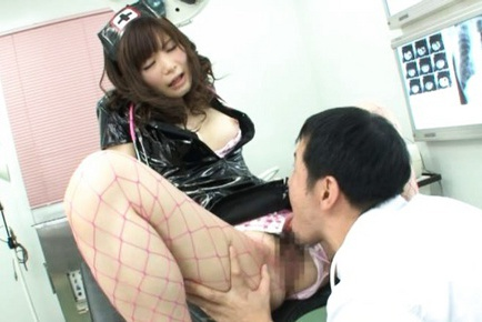 Rei Kiyomi Sexy and juicy Japanese nurse
