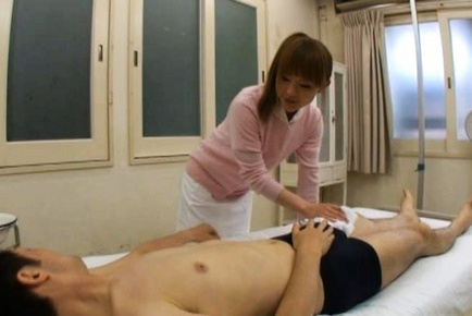 Yuu Konishi pretty Asian babe is a nurse