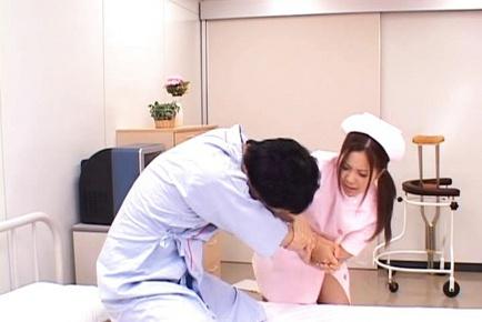 Manaka Kazuki Hot Japanese nurse