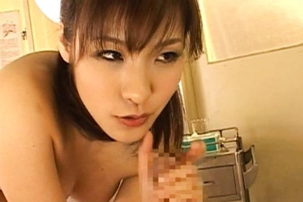 Nao Ayukawa Asian doll in nurse uniform gets a hard fucking