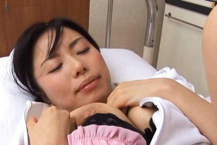 Nurse Hina Hanami Wakes Up To Get Fucked