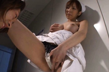 An Mashiro Hot Japanese nurse is a bombshell