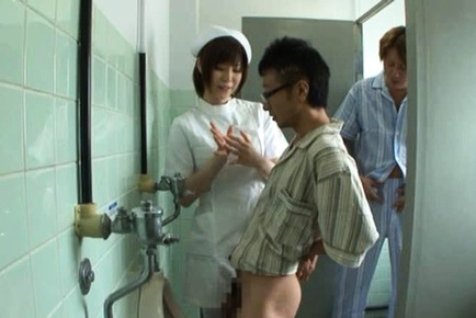 Japanese avmodel hot nurse fuck