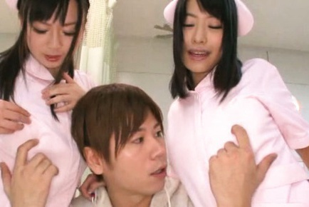 Perverted nurses arrange the wildest orgy with their patients