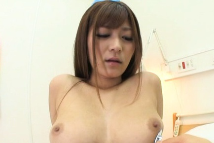 Busty Satou Haruka enjoys true solo masturbation