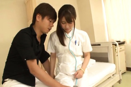 Rioan Kizaki gets fucked and filled with cream