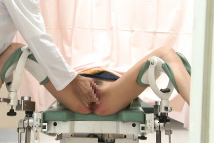Japanese AV Model comes to visit a horny gynecologist