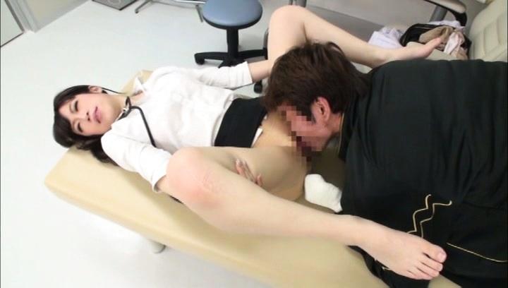 Japanese dentist nurse care the patient