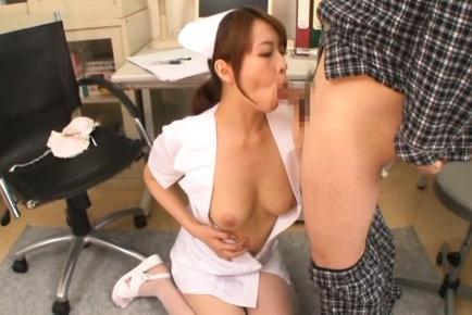 Erena fujimori nurse enjoys cock and vibrator 10